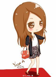 Yoona Cartoon