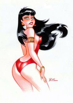 Vampirella, Bruce Timm