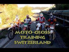 Moto-Cross training in a Gravel-pit - Switzerland - YouTube