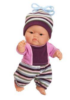 PAOLA REINA  muñeco Peque invierno asiático.  asian baby doll winter