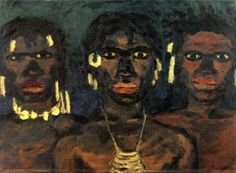 Tribesmen from New Guinea - Emil Nolde - The Athenaeum