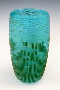 Lagoon #2 - Blown &Carved Glass - 2013 - Nick Leonoff