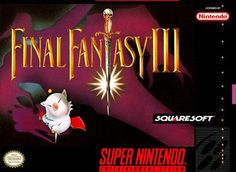 Final Fantasy III - The best RPG ever released on the SNES, and possibly the greatest RPG ever. To play this game is to fall head over heels in love with it. I wish Square could get back to making games like this, because the FF titles they put out now just aren't that good.