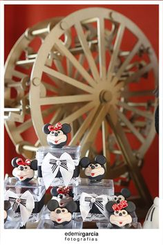 Vintage Mickey and Minnie Mouse Party Planning Ideas Supplies Idea
