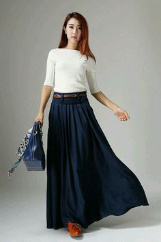 LOVE this skirt! Wouldn't mind having a few in different winter colors.
