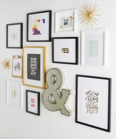 Gallery walls are the greatest thing to happen to bare walls since fresh paint! To help get you started, we've got DIY gallery wall art pads that come with several ready-to-hang coordinated prints and ideas for how to lay them out. To find, visit your local store!