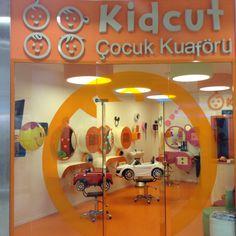 Kid haircut Kids Barber Shop, Barber Shop Decor, Kids Hair Salon, Haircut Salon, Kids Cafe, Barbershop Design, Kids Spa, Dream Kids, Beauty Salon Interior