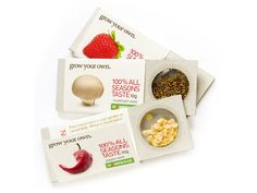 Grow Your Own (Student Work) on Packaging of the World - Creative Package Design Gallery