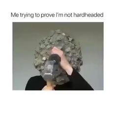 Me trying m prove I'm not hardheaded - iFunny :) Funny Memes, Hilarious, Funny Shit, Lost In Translation, I Tried, Popular Memes, Give It To Me, Humor, Sassy