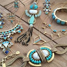 Summertime blues #stelladotstyle. Get the look at www.stelladot.com/nikkidotti