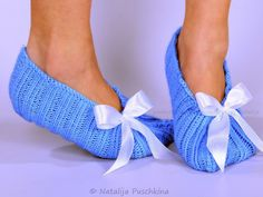 Gestrickte Ballerinas für Frauen und Mädchen in Größen von 22 bis 47