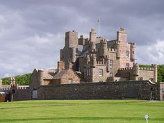 Castle of Mey (formerly Barrogill Castle) is located in Caithness, on the north coast of Scotland