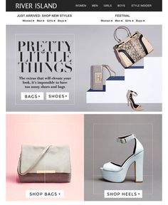 Shoes and bags e-newsletter
