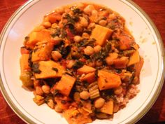 Sister's Recipes: Ethiopian Berbere Chickpea and Sweet Potato Stew