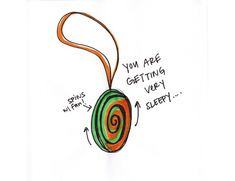 Hypnotizing wheel