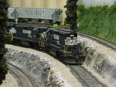 NS units wait for yard time at Muscogee Jct - Model Railroader Magazine - Model Railroading, Model Trains, Reviews, Track Plans, and Forums