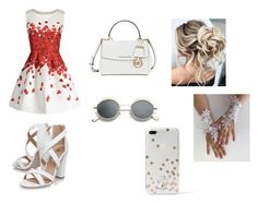 """""""Untitled #230"""" by bosniamode ❤ liked on Polyvore featuring Miss KG, Michael Kors and Kate Spade"""
