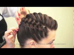 Деловая прическа. Stylish haircut. parikmaxer.tv парикмахер тв - YouTube