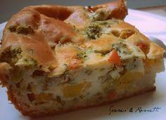 Torta de Legumes.