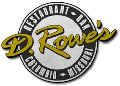 D. Rowe's Restaurant and Bar - a little bit of everything and big portions to brag about. Located at 1005 Club Village Dr. #ColumbiaMO #Dining #DRowes