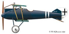 A Roland D.VIa of the fighter squadron World War One, First World, Fighter Aircraft, Private Jet, Luftwaffe, Wwi, Aviation, Planes, Cutaway