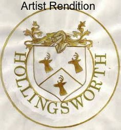 """""""Descendants of Henry Hollingsworth (born 1598), father of Valentine Sr.  and the County Wexford - Wicklow families.   Failte!""""  Thomas James Hollingsworth, author of this website, which is well-known to Hollingsworth researchers as the """"Holly Gardens,"""" is another highly respected Hollingsworth genealogist."""