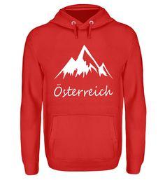 Österreich T-Shirt Unisex, Hoodies, Sweaters, Fashion, Cotton, Breien, Moda, Sweatshirts, Sweater