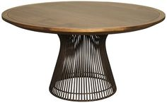 :: NOIR Furniture Thomas Dining Table - Do you like this in the dining room? I like the more earthy take on the Platner table