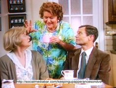 Keeping Up Appearances - I've enjoyed watching this oldie on PBS for years. British Tv Comedies, British Comedy, Funny Sitcoms, English Comedy, Keeping Up Appearances, Bbc Tv, Funny Character, Comedy Tv, Agatha Christie