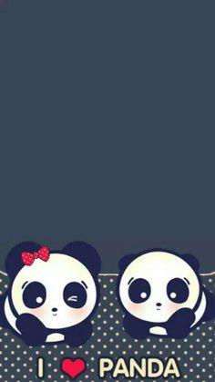Panda Wallpaper Iphone, Cute Panda Wallpaper, Panda Wallpapers, Bear Wallpaper, Cute Cartoon Wallpapers, Cool Panda, Panda Love, Panda Background, Panda Painting