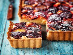 Mandlovo-švestkový koláč – PĚKNĚ VYPEČENÝ BLOG