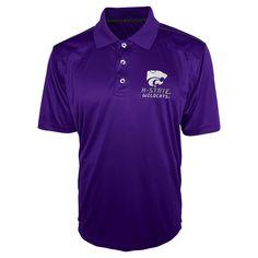 NCAA Kansas State Wildcats Men's Polo Shirt -
