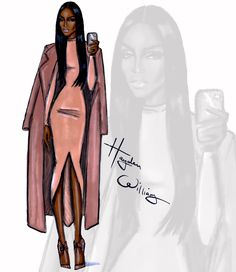 The Selfie Series by Hayden Williams: 'Coral Chic'