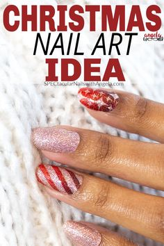 Skip down Candy Cane Lane and try these delightful nails this Christmas – you might even be mistaken for one of Santa's elves. Add a festive touch to your nails with Wrap It Up, a sparkling gold and red wrapping paper design of stripes and diamond shapes. Get holiday perfect nails at home with Color Street! #christmasnaildesign #easynaildesign #colorstreetnails Christmas Nail Designs, Christmas Nail Art, Wrapping Paper Design, Nail Polish Strips, Nails At Home, Color Street Nails, Simple Nail Designs, Nail Bar, Perfect Nails