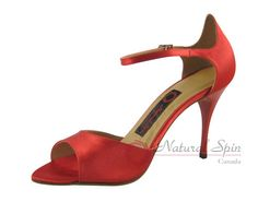 Natural Spin Tango Salsa Shoes/Tango Shoes/Fashion Shoes(Open Toe):  T1102-T11_R