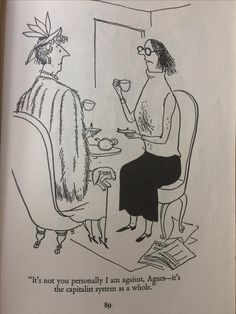 Illustration from the HILARIOUS book 'The Female Approach'.