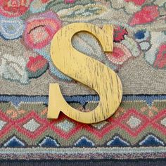 Serif Letters Wooden Shabby Chic Distressed by SlippinSouthern, $31.00