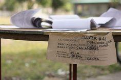 Election scenes in Cainta, Rizal.