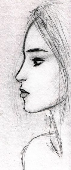 Face sketch by dashinvaine deviantart com on deviantart