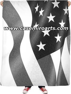 Patriotic flag fleece throw blanket, black and white pencils, America couch Solar Panel Charger, White Pencil, Fleece Throw, Summer Evening, Makeup Organization, Curling, Fun Workouts, Lemonade, Flag