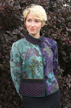 Farb-und Stilberatung mit www.farben-reich.com - Mary Lynn O'Shea: Designer | Weaver | Addison Jacket