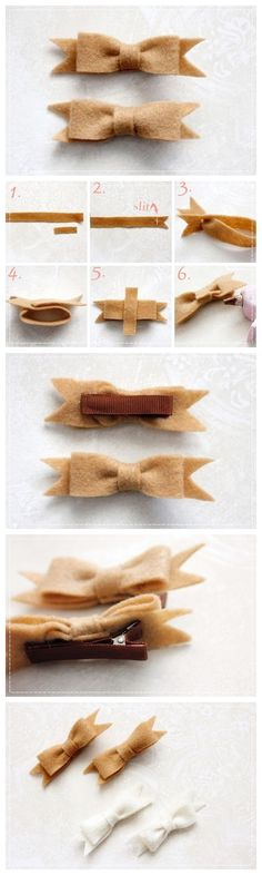 How to make Hand Made Ribbon Pin DIY step by step tutorial instruction  January 21, 2014 	Posted by admin under felt, Felt Crafts 	  Comments off    Ribbon Pin