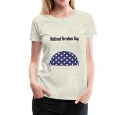 National Freedom Day | American Flag Apparel Freedom Day, American Flag, Baby Kids, Tops, Women, Fashion, Elegant, Men, Moda