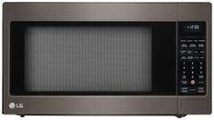 LCRT2010BD 24 2 cu ft Capacity Countertop Microwave with 1200 in Black Stainless Steel -- Click image for more details. (This is an affiliate link)