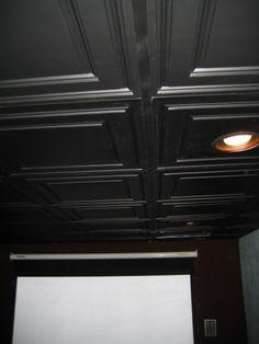 Great Drop Ceiling Tiles For A Basement Theatre Room Quot I