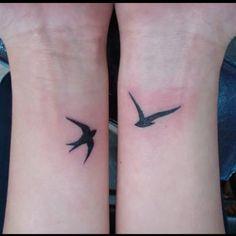 Small, simple wrist tattoos