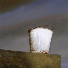Bo Bartlett, Painter's Bucket on ArtStack American Realism, American Artists, Bo Bartlett, Still Life Flowers, Oil Painters, Make Art, Online Art, Art Gallery, Illustration Art