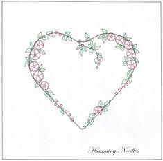 rose_heart1  free silk ribbon embroidery pattern