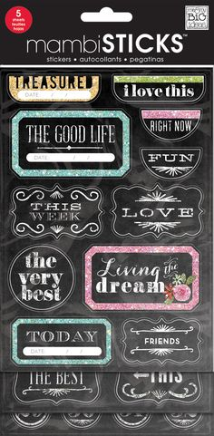 Chalkboard Value Pack - The Good Life