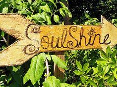 Let your soul shine through. :)